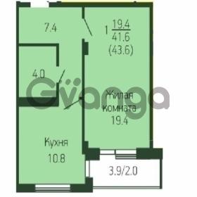 Продается квартира 1-ком 44 м² Кореновская ул, 111