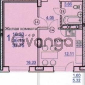 Продается квартира 1-ком 38 м² Героя Яцкова, 33