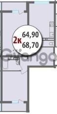 Продается квартира 2-ком 68 м² Черкасская, 40