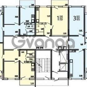 Продается квартира 2-ком 55 м² Московская, 20
