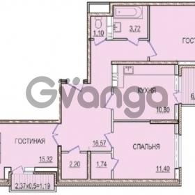 Продается квартира 3-ком 82 м² Восточно-Кругликовская, 95