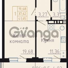 Продается квартира 1-ком 42 м² Автолюбителей, 15