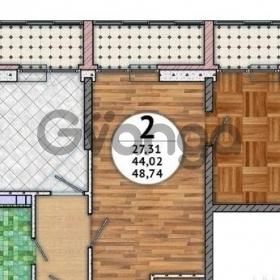 Продается квартира 1-ком 49 м² улица Красных Партизан, 1/3лит6