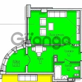 Продается квартира 1-ком 37.4 м² улица Коммунаров, 270