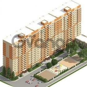 Продается квартира 1-ком 40 м² улица Евгении Жигуленко, 39