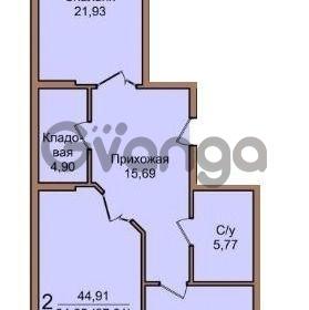 Продается квартира 2-ком 87.6 м² Березанская улица, 88