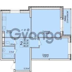 Продается квартира 2-ком 66.2 м² Верхняя улица, 2