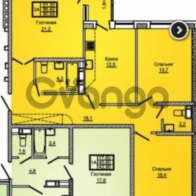 Продается квартира 3-ком 91 м² улица Жлобы, 139