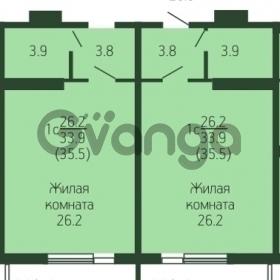 Продается квартира 1-ком 35.5 м² Кореновская, 5