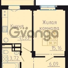 Продается квартира 1-ком 38 м² Автолюбителей, 11