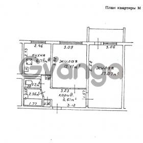 Продается квартира 2-ком 46 м² ул. 50 лет заводу Гомсельмаш , 26