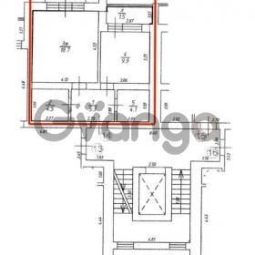 Продается квартира 1-ком 43 м² Солнечная