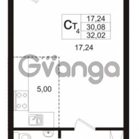 Продается квартира 1-ком 30.08 м² бульвар Менделеева 5, метро Девяткино