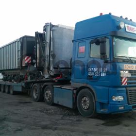 Перевозка комбайнов по Украине, Европе
