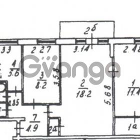 Сдается в аренду квартира 3-ком 54 м² Ташкентская,д.14к1, метро Выхино