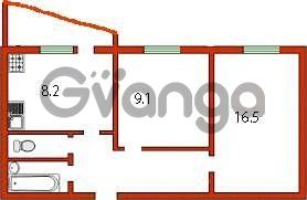 Продается квартира 2-ком 46 м² Набережная ул.