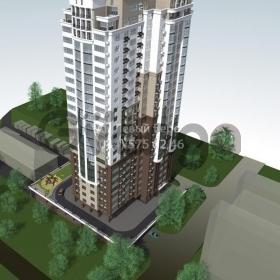 Продается квартира 1-ком 55 м² ул. Лумумбы Патриса, 11, метро Дворец Украина
