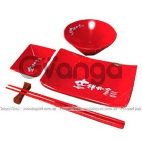 Набор для суши Wellberg Red 5 предметов