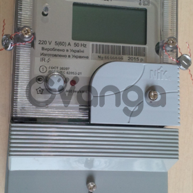 Многотарифный Однофазный счетчик НИК 2102-01.Е2МСТР1 220В (5-60) А