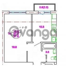 Продается квартира 1-ком 37 м² Римская