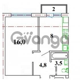 Продается квартира 1-ком 33 м² Римская