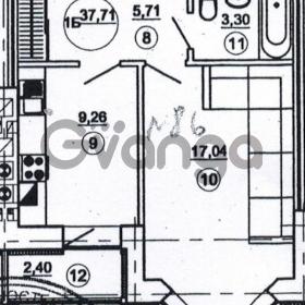 Продается квартира 1-ком 38 м² Подлесная