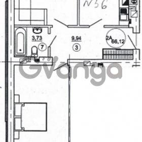 Продается квартира 2-ком 66 м² Подлесная