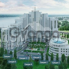 Продается квартира 2-ком 77 м² Героев Сталинграда просп