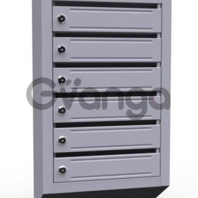 Почтовые ящики в подъезд ( 6 секционные, металлические)