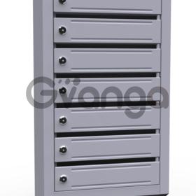 Почтовые ящики в подъезд ( 7 секционные, металлические)
