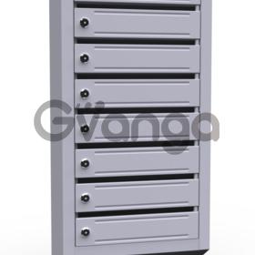 Почтовые ящики в подъезд ( 8 секционные, металлические)