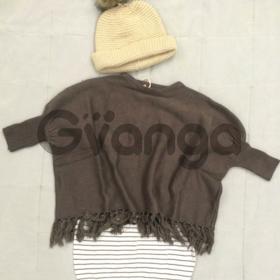 Модный наряд для девочки: Пончо, Туника, Шапка