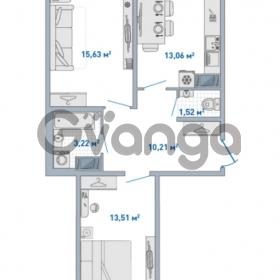 Продается квартира 2-ком 70.47 м² Европейский проспект 14, метро Улица Дыбенко