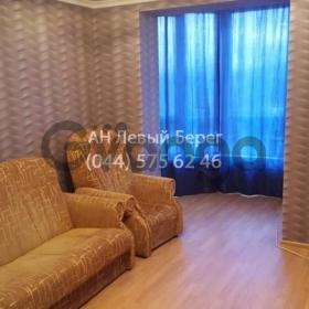 Сдается в аренду квартира 1-ком 48 м² ул. Жулянская, 1г, метро Теремки