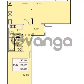 Сдается в аренду квартира 1-ком 30 м² Взлетная Ул.,  12к6, метро Ладожская