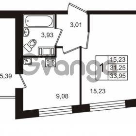 Продается квартира 1-ком 31.25 м² Европейский проспект 14, метро Улица Дыбенко