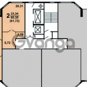 Продается квартира 2-ком 62 м² Кутузовская,д.4а