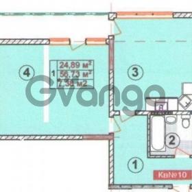 Продается квартира 2-ком 60 м² Кузнецова, 22