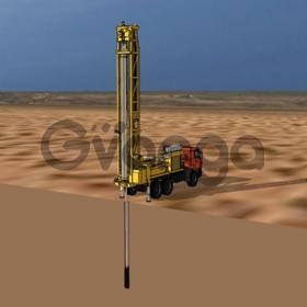 Установка скважинной гидродобычи песка на русловых месторождениях