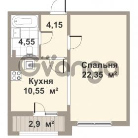 Продается квартира 1-ком 43 м² проспект Медиков 10, метро Петроградская