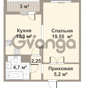 Продается квартира 1-ком 46 м² проспект Медиков 10, метро Петроградская