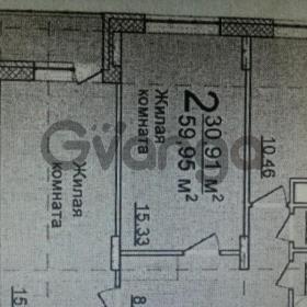 Продается квартира 2-ком 60 м² Геологов,д.17