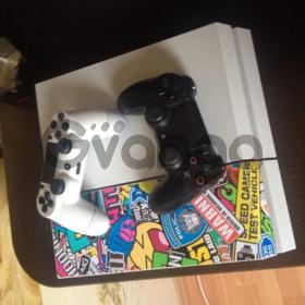 Sony Playstation 4 500gb + 2 контроллера