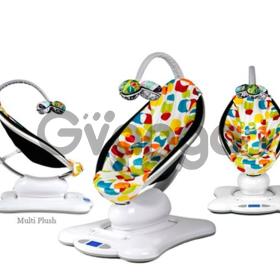 Электронный шезлонг-качели 4moms MamaRoo цвет multi plush