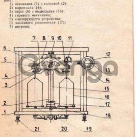 Весы лаболаторные ВЛР-1кг-1