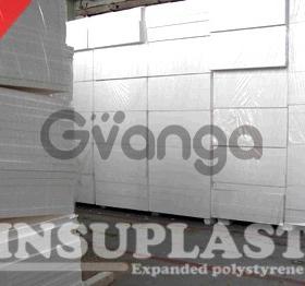 Пенопласт белый (White) 9 кг/м3 Insuplast для Сип(Sip) панелей, EPS-9, ПСБ-С-25, 1200x2800мм