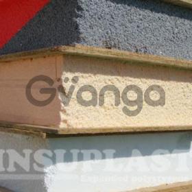 СИП панель 120мм Insuplast - ПСБ-С-25 для внешних и внутренних стен, крыши (Yellow 120мм 2800x1250)