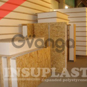СИП панель 120мм Insuplast - ПСБ-С-25 для внешних и внутренних стен, крыши (Light 120мм 2800x1250)