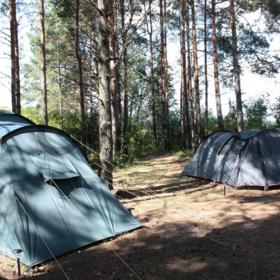 """Палаточный лагерь на Кинбурнской косе """"Лагуна"""""""