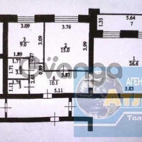 Продается квартира 2-ком 73 м² минская ул.,19